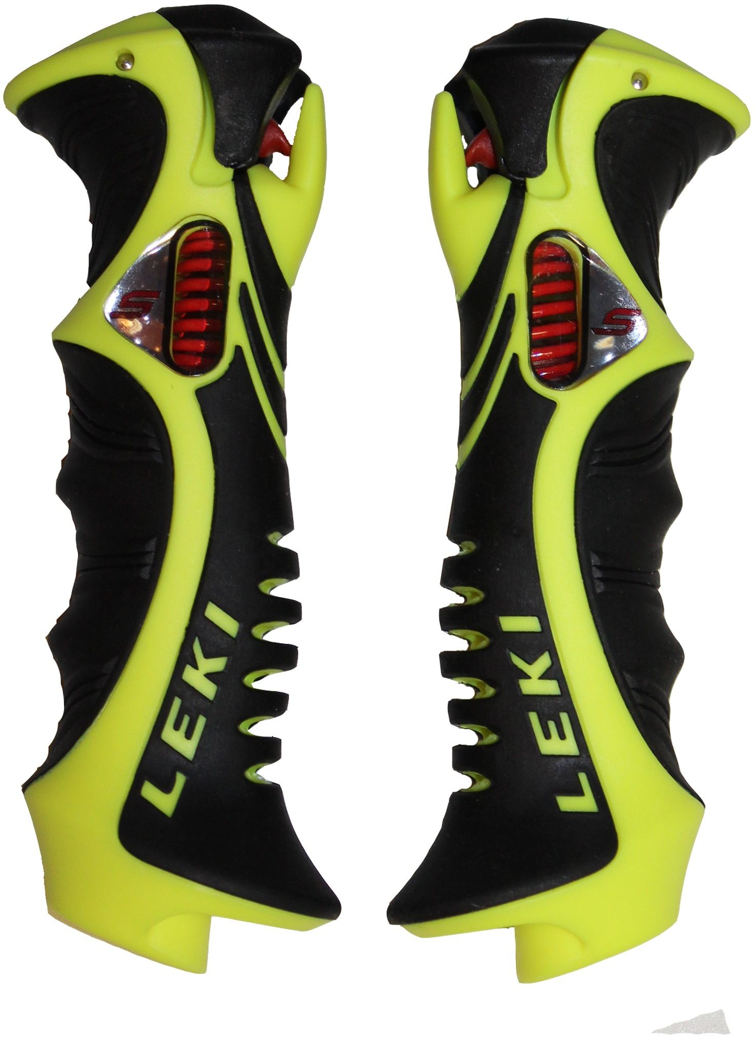 Leki Trigger S Slalom grip 16mm - neonyellow/black uni