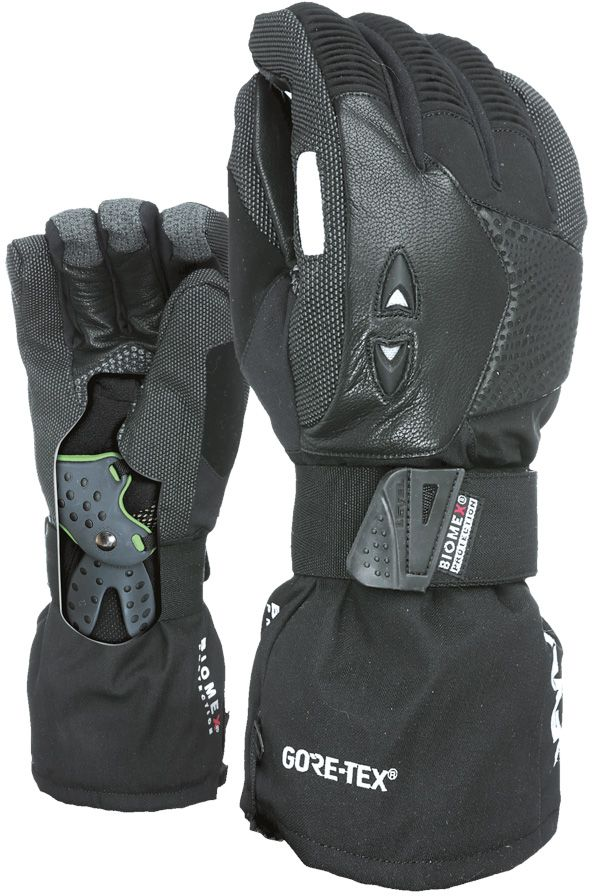 Snowboardové rukavice Level Super Pipe Gore-Tex - black - Ski a Bike ... 9bae056dad