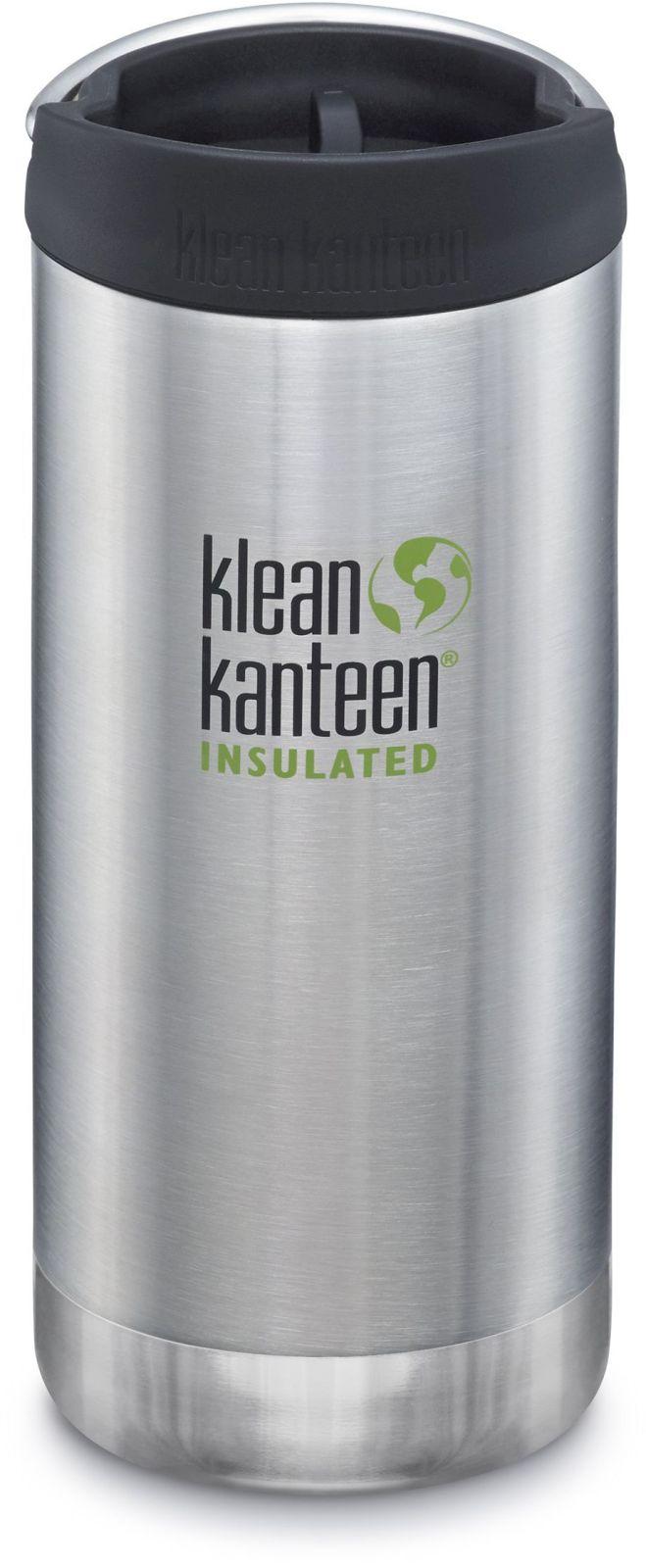 Klean Kanteen TKWide w/Café Cap - Brushed Stainless 355 ml uni