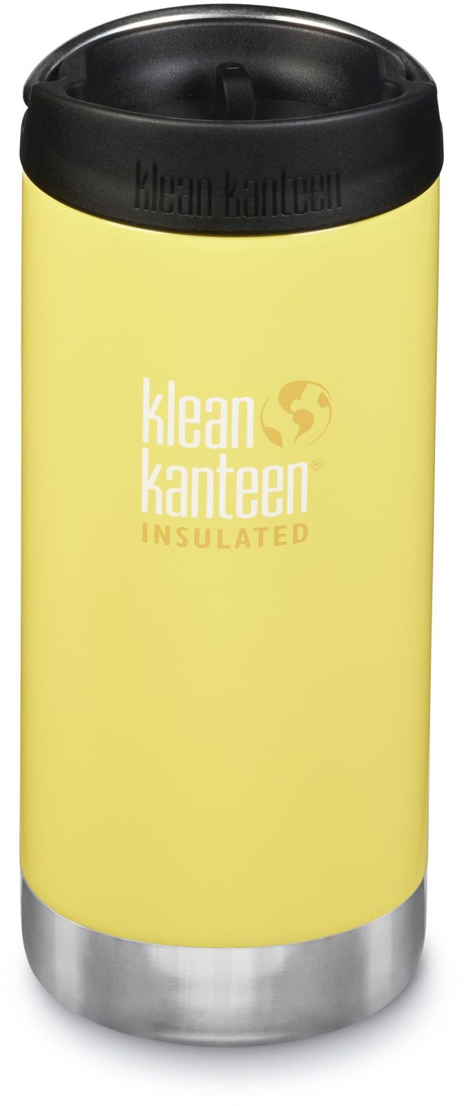 Klean Kanteen TKWide w/Café Cap - Buttercup 355 ml uni