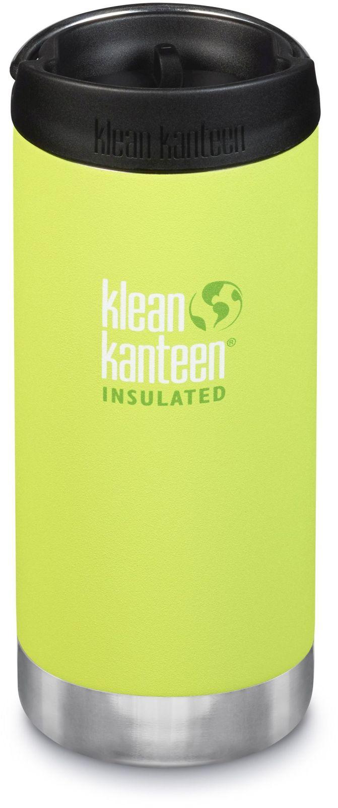 Klean Kanteen TKWide w/Café Cap - Juicy Pear 355 ml uni