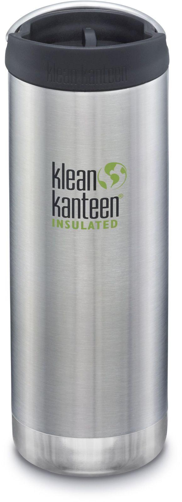 Klean Kanteen TKWide w/Café Cap - Brushed Stainless 473 ml uni