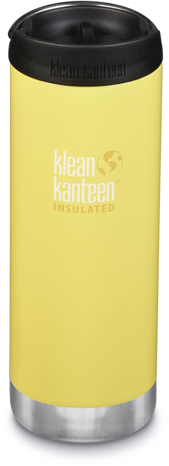 Klean Kanteen TKWide w/Café Cap - Buttercup 473 ml uni