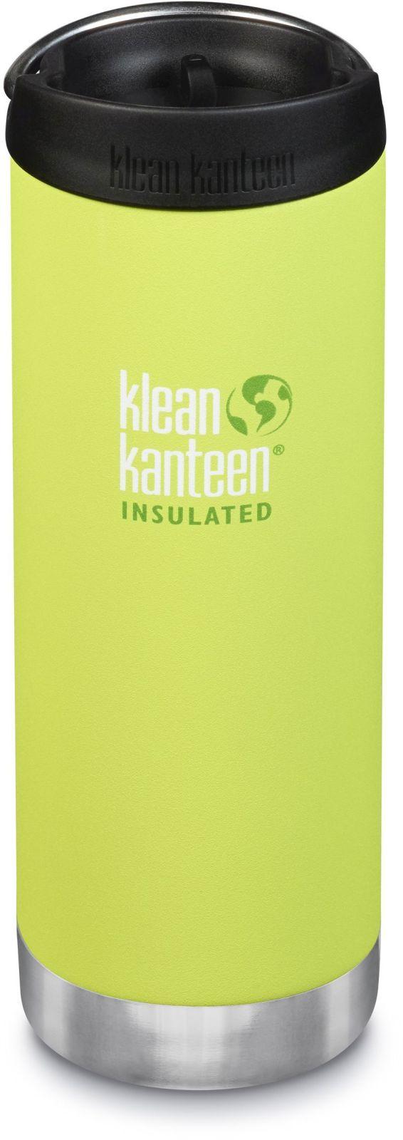 Klean Kanteen TKWide w/Café Cap - Juicy Pear 473 ml uni