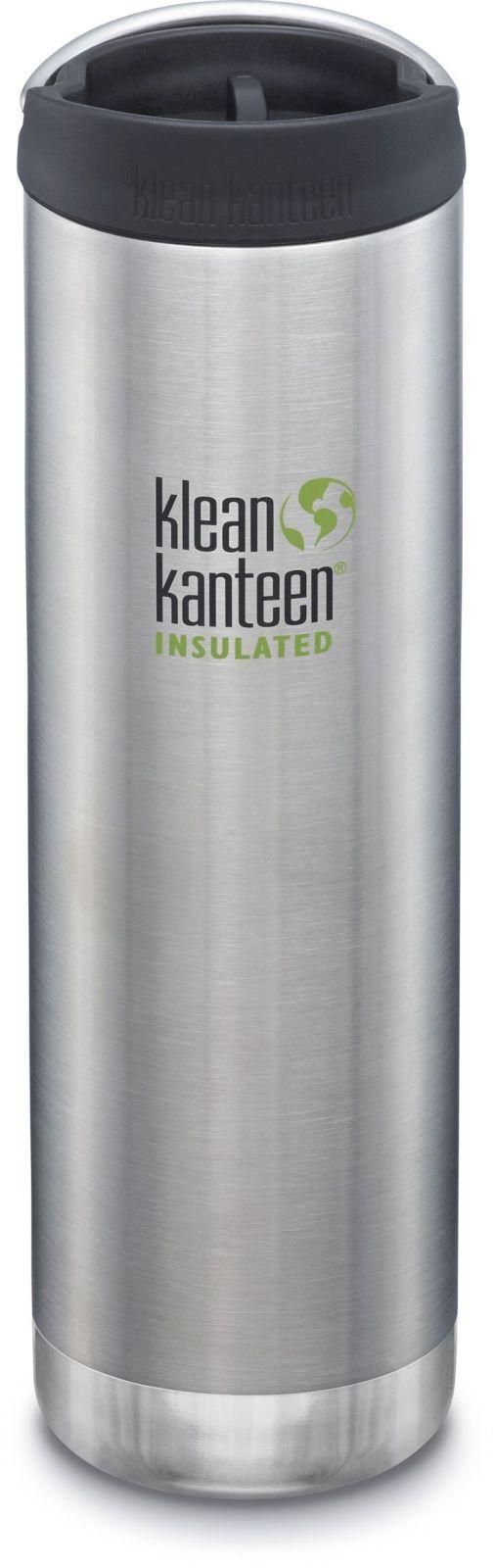 Klean Kanteen TKWide w/Café Cap - Brushed Stainless 592 ml uni