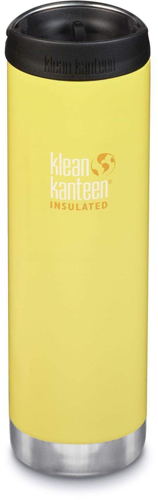 Klean Kanteen TKWide w/Café Cap - Buttercup 592 ml uni