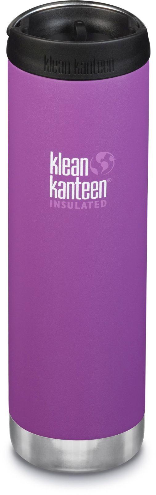 Klean Kanteen TKWide w/Café Cap - Berry Bright 592 ml uni