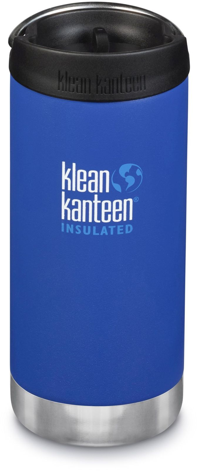 Klean Kanteen TKWide w/Café Cap - Deep Surf 355 ml uni