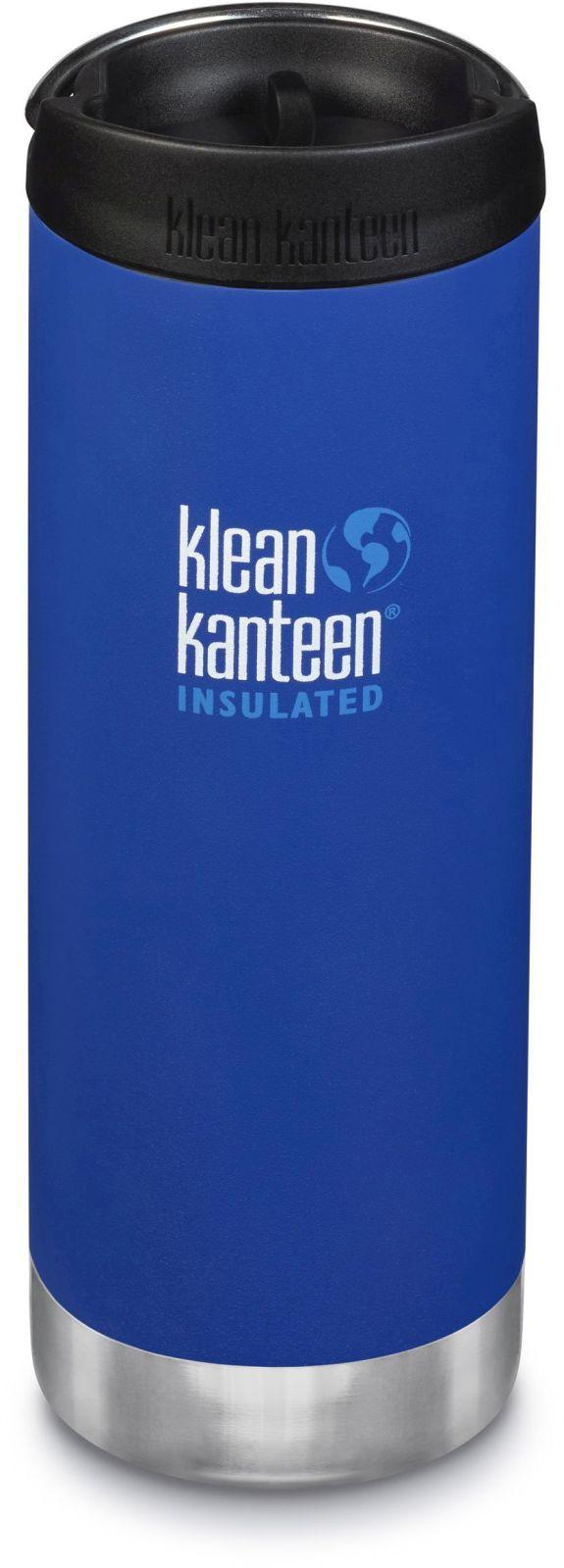 Klean Kanteen TKWide w/Café Cap - Deep Surf 473 ml uni