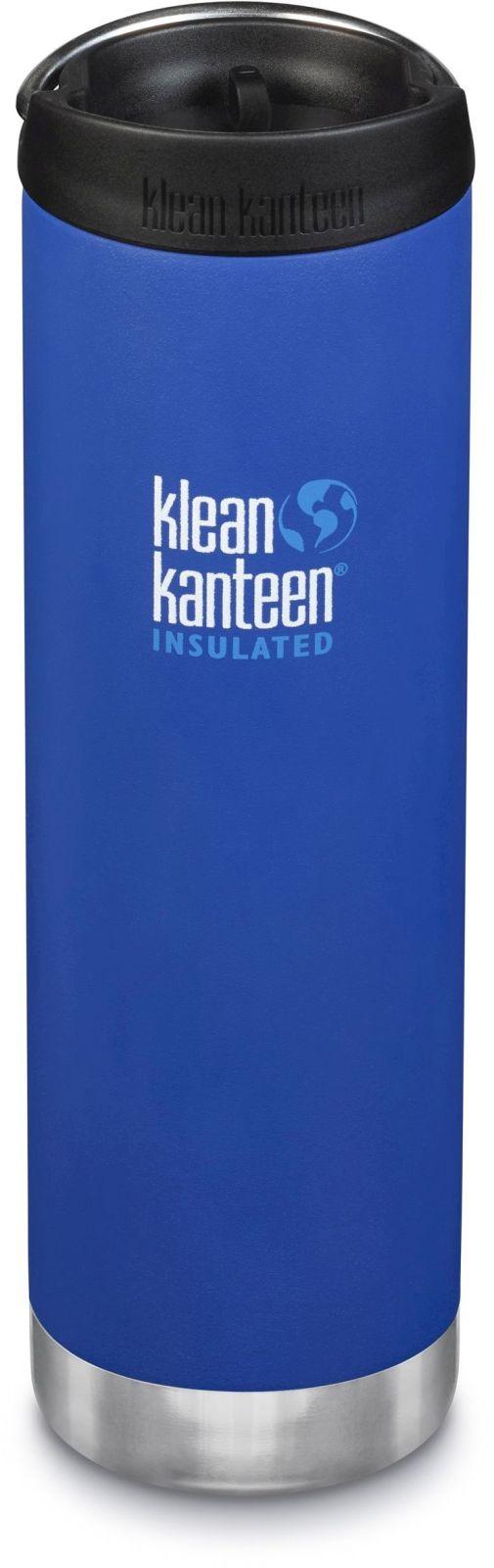 Klean Kanteen TKWide w/Café Cap - Deep Surf 592 ml uni