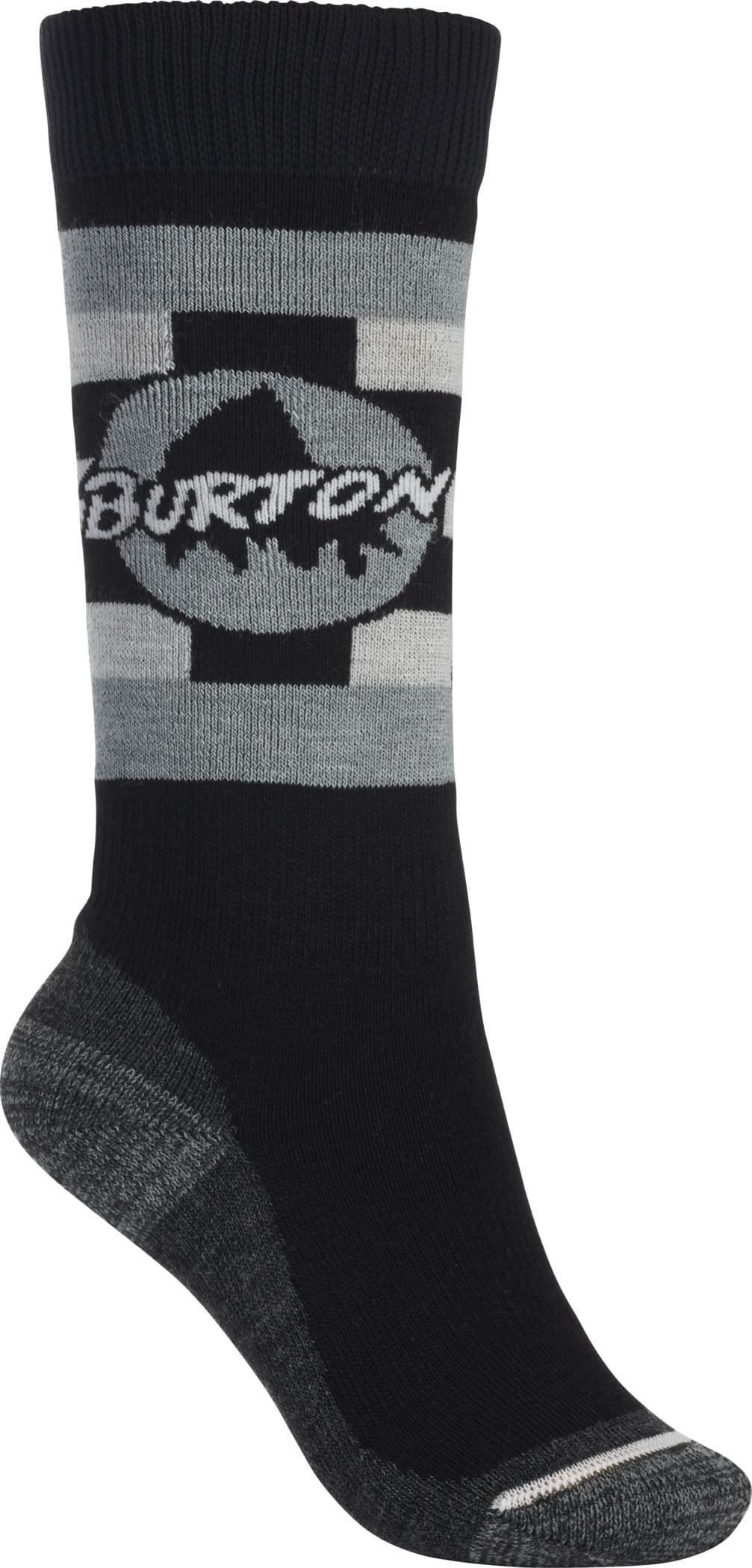Dětské lyžařské ponožky Burton Emblem – true black S/M