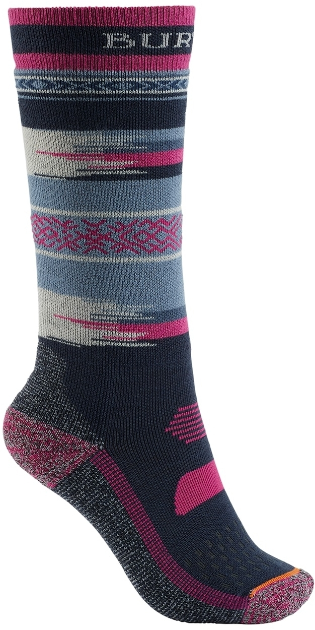 Burton Youth Performance Midweight Snowboard Sock Vista M/L