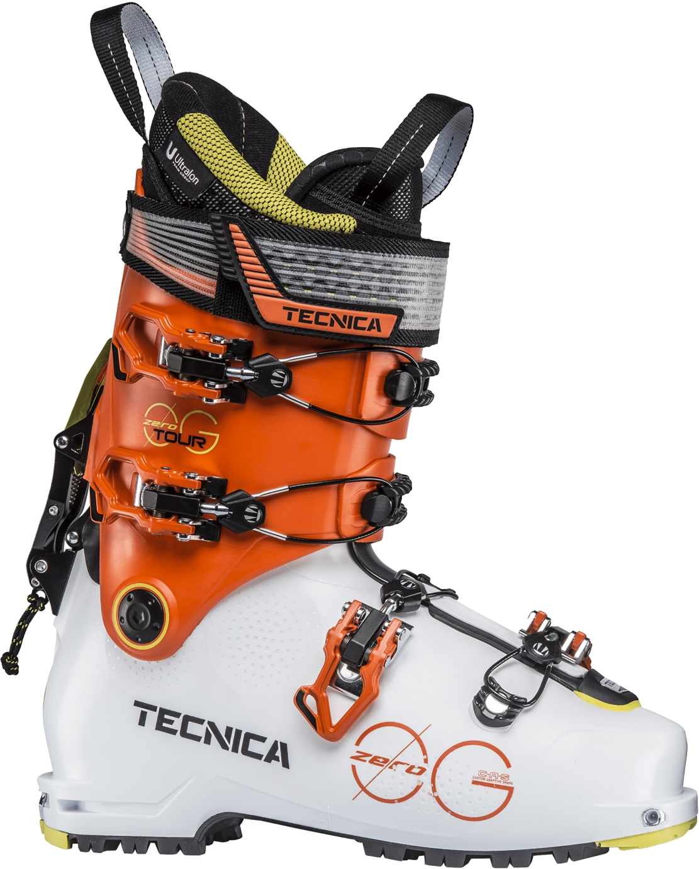 Tecnica Zero G Tour - white/ultra orange 305