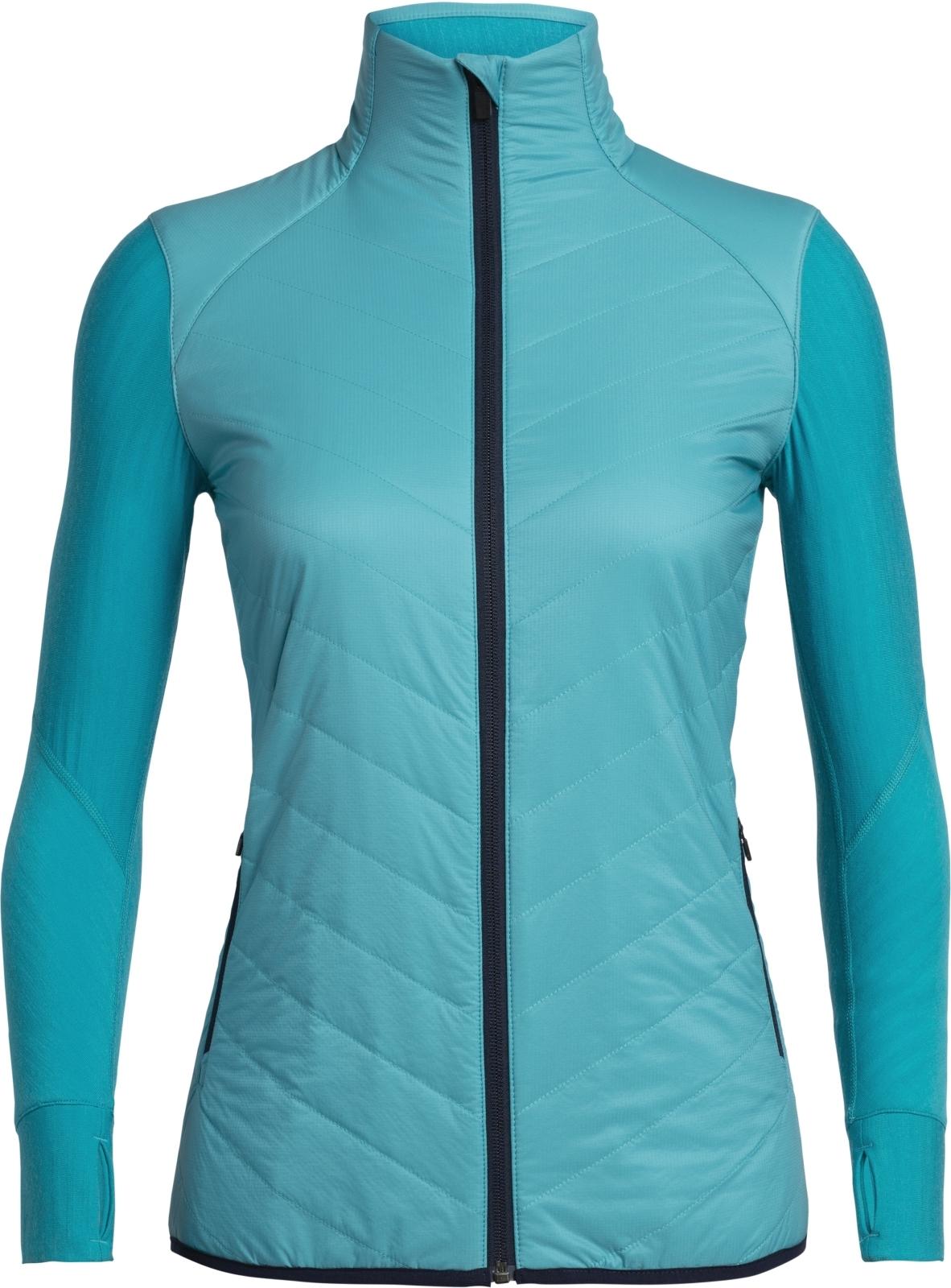 Icebreaker Womens Descender Hybrid Jacket - arctic teal XS