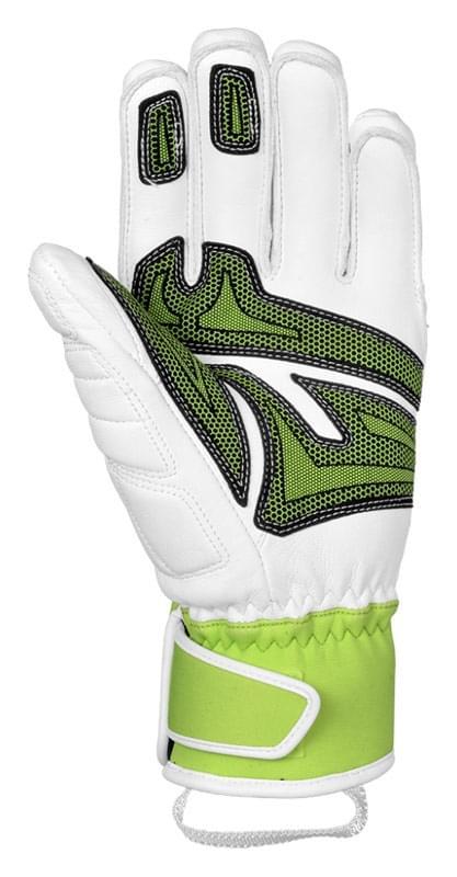 a157a8a967c Lyžařské rukavice Reusch Race Tec 14 SC - white neon green - Ski a ...