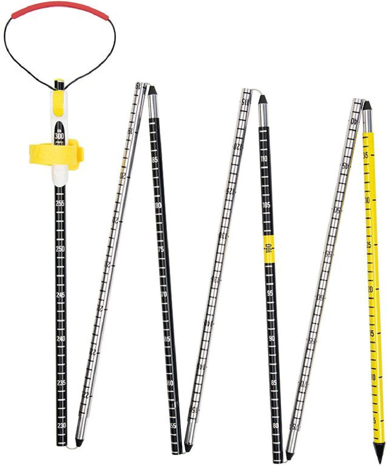 Pieps Probe Alu 300 Sport - black/silver/yellow uni