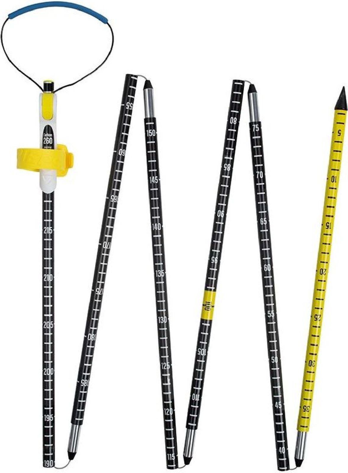 Pieps Probe Carbon 260 Pro - black/yellow uni