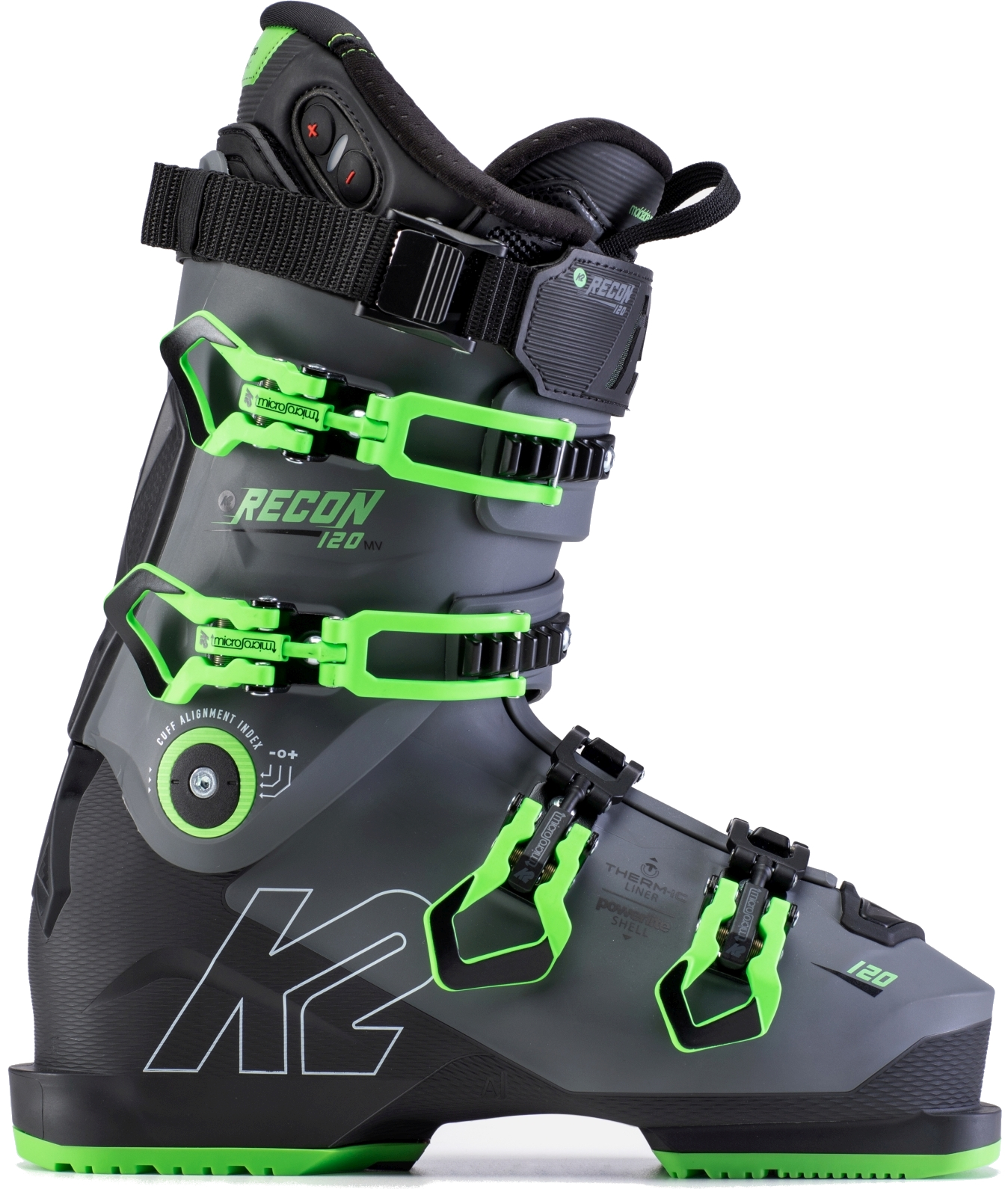K2 Recon 120 MV Heat Gripwalk 265