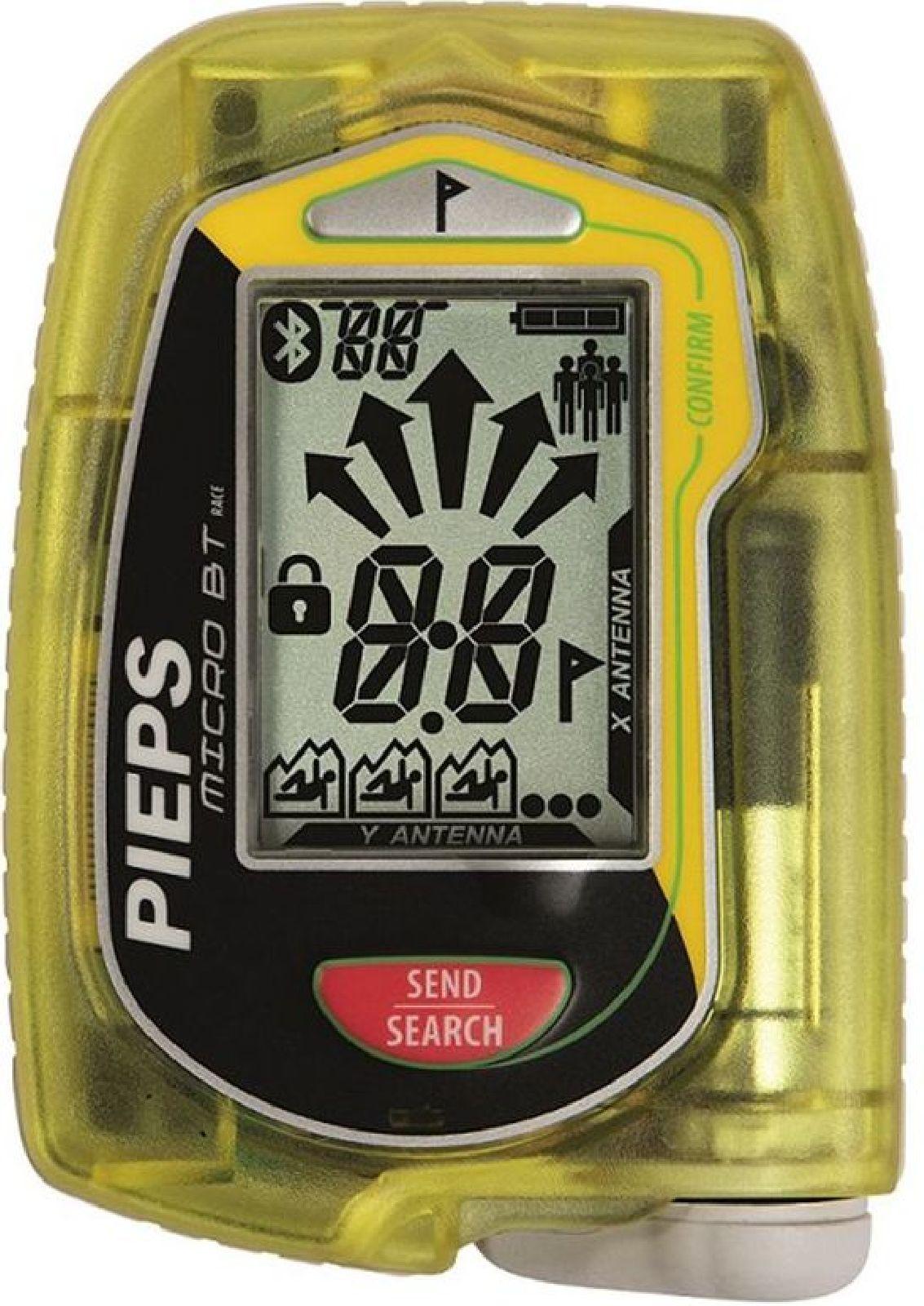 Pieps Micro BT Race - yellow/black race uni