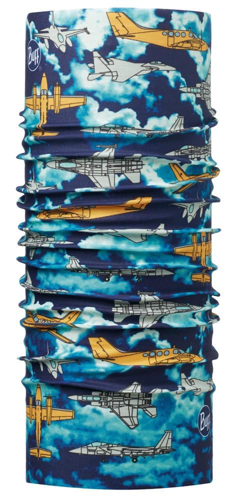 22dc4d8a70b Dětský multifunkční šátek Buff Original – Planes Blue - Ski a Bike ...