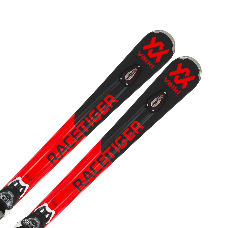 Völkl Racetiger RC black + VMotion 12 GW 175