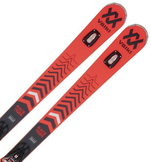 Volkl Racetiger GS + vázání rMotion2 12 GW black/flo-red 180