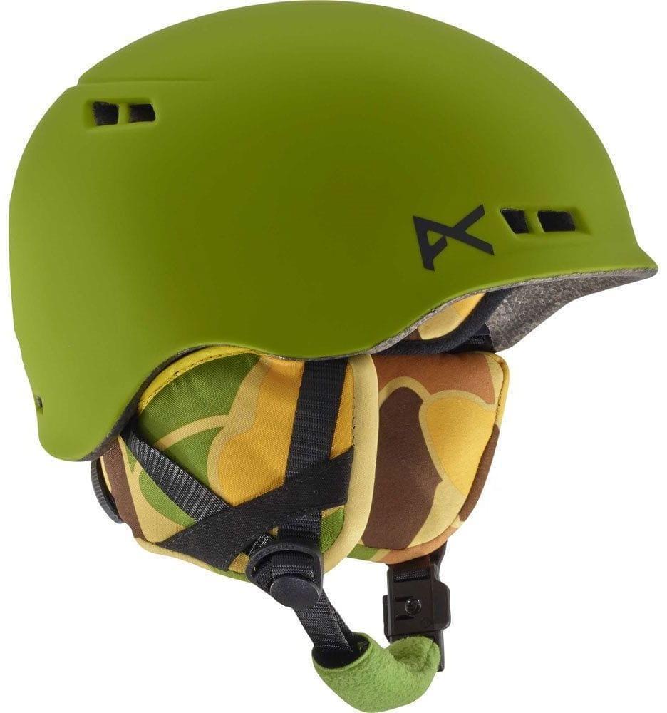 Dětská lyžařská přilba Anon Burner - kamo green L/XL