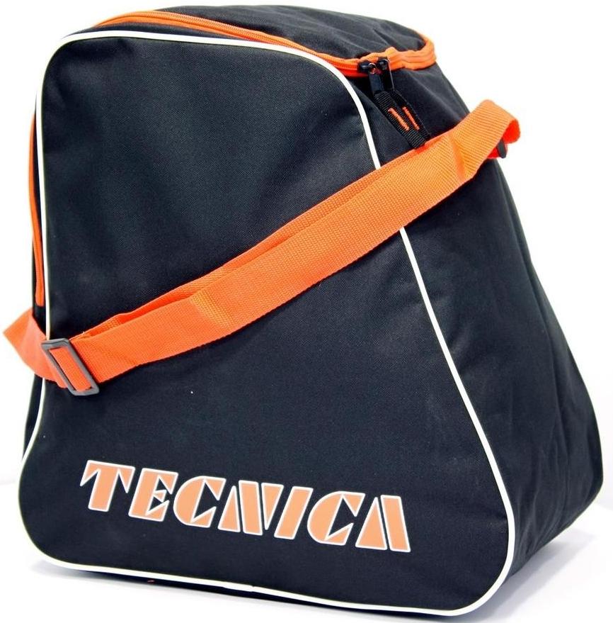 Tecnica Skiboot bag - black/orange uni