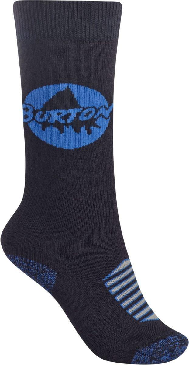 Chlapecké ponožky Burton Weekend - dvojbalení - true black M L 6946b7bb34