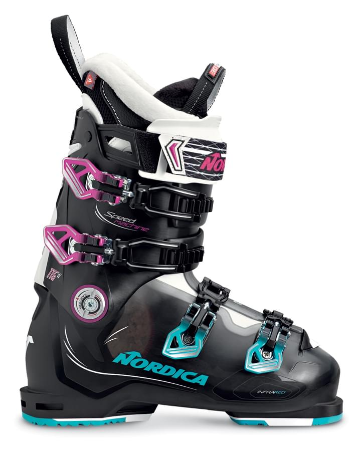 Nordica Speedmachine 115 W - black/tr.black/fucsia 245