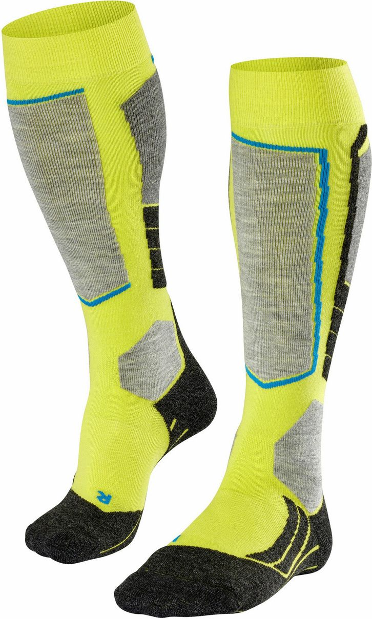Falke SK2 Men Skiing Knee-high Socks - limepunch 46-48