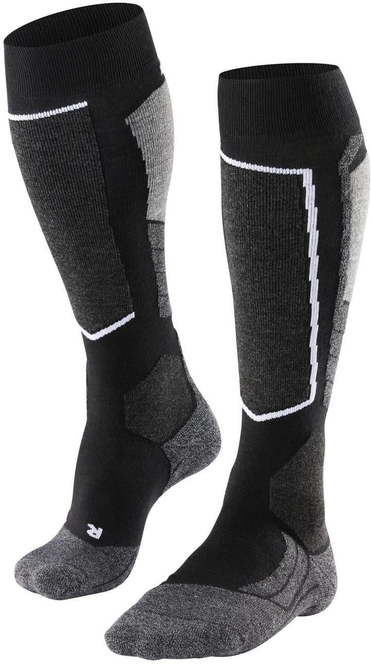 Falke SK2 Women Skiing Knee-high Socks - black-mix 41-42