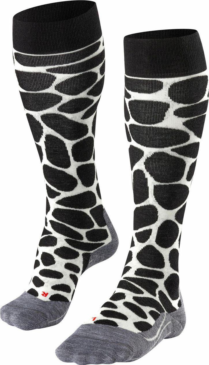 Falke SK4 Giraffe Women Skiing Knee-high Socks - black 41-42