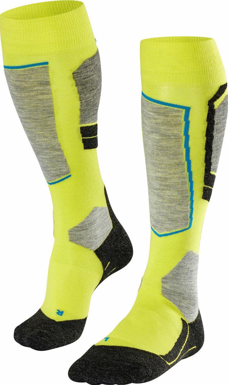 Falke SK4 Men Skiing Knee-high Socks - limepunch 46-48