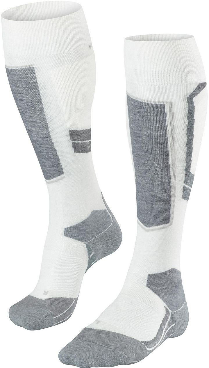 Falke SK4 Wool Women Skiing Knee-high Socks - offwhite 41-42