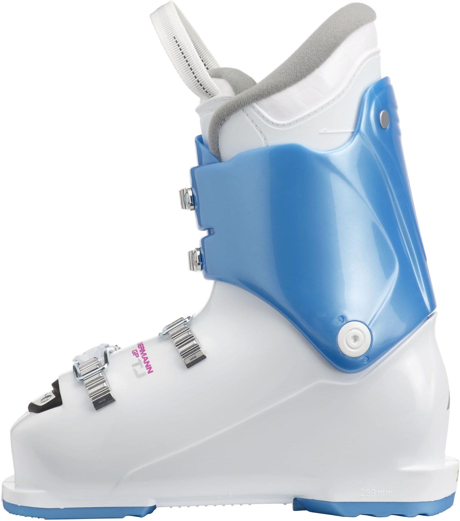 3f33c43ba95 ... Dětské lyžařské boty Nordica Dobermann GP TJ - white light blue purple  ...