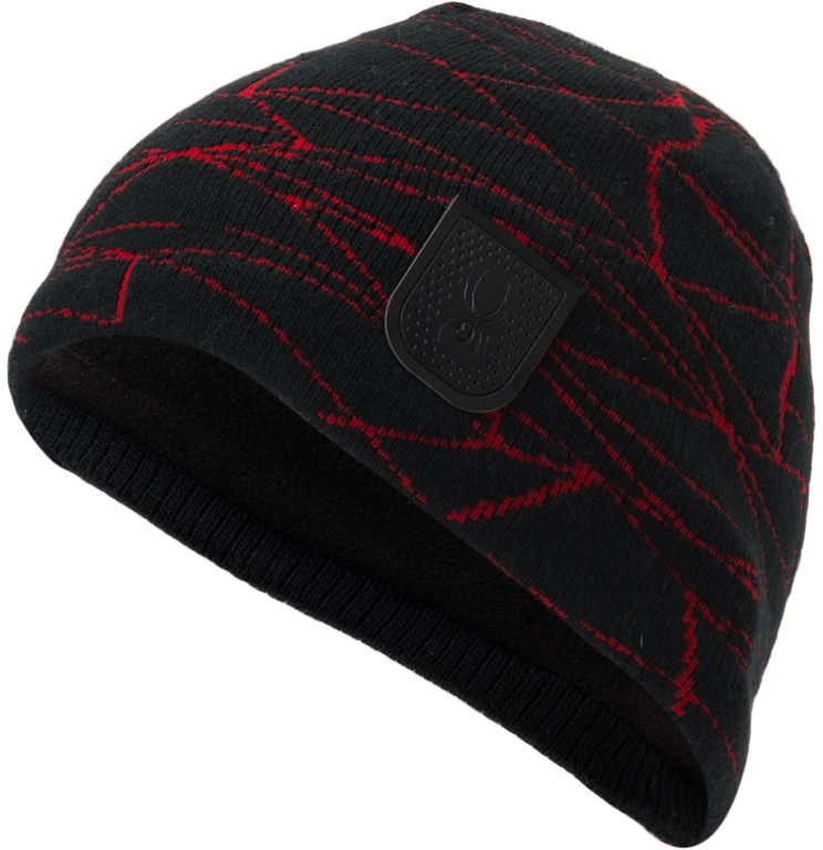 Spyder Web Hat - blk/red uni