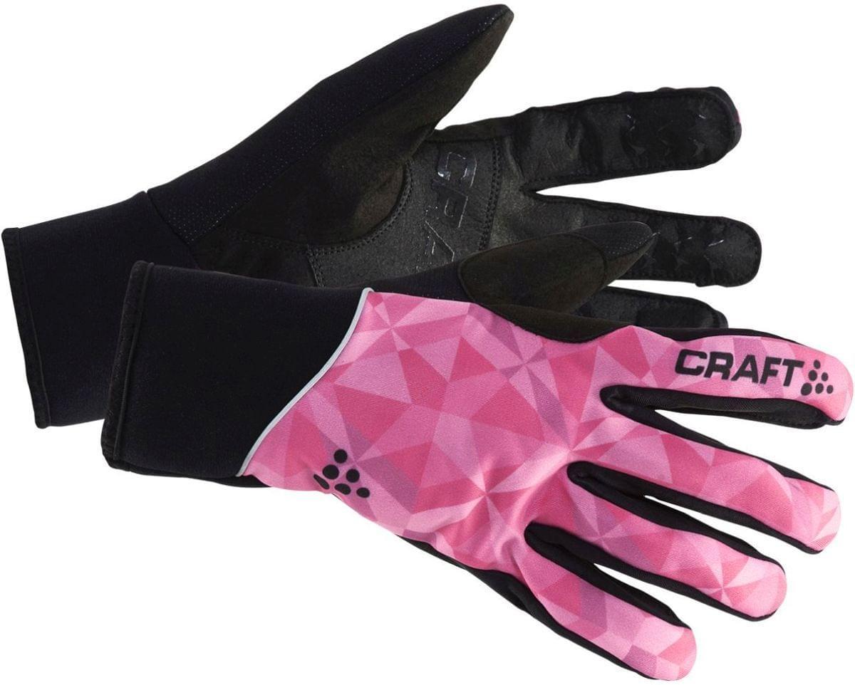 Dámské rukavice Craft Touring Glove - p geo pop black - Ski a Bike ... 6674c8090f