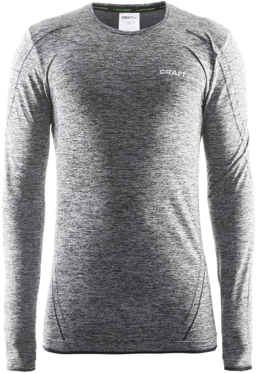 Pánské funkční triko s dlouhým rukávem Craft Active Comfort LS - černá ... 8c658b8d61