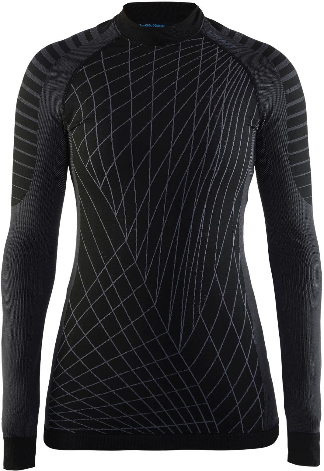 Dámské funkční triko s dlouhým rukávem Craft Active Intensity - černá 39655bb4a0e