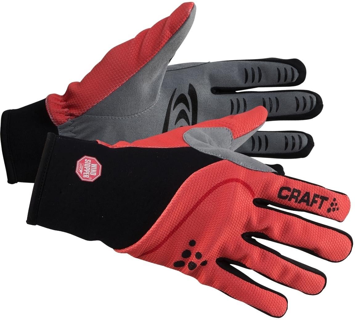 b3b37dd90fc Běžkařské rukavice Craft Power WS - červená černá - Ski a Bike ...
