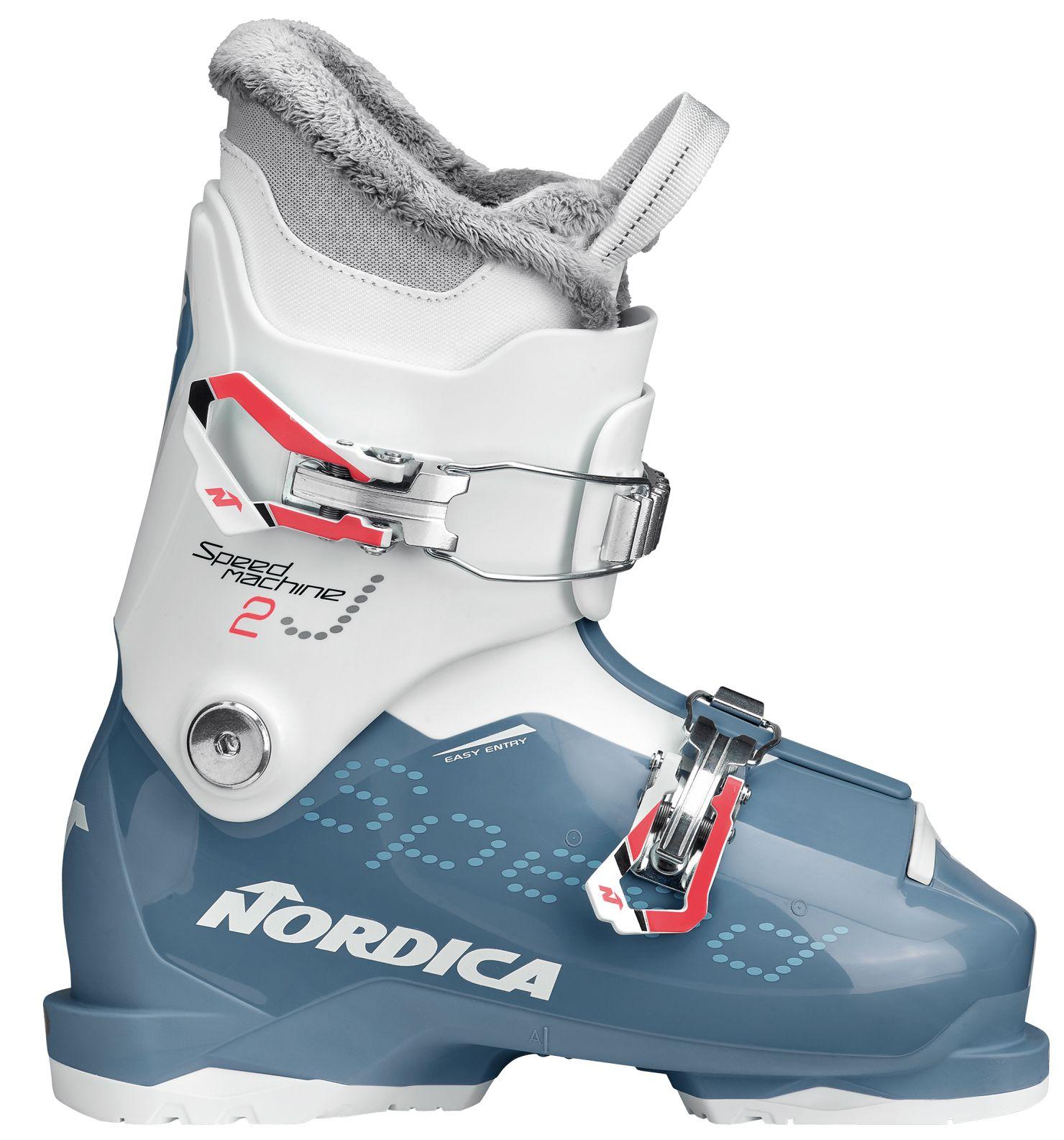 Nordica Speedmachine J 2 (Girl) - light blue-white 175