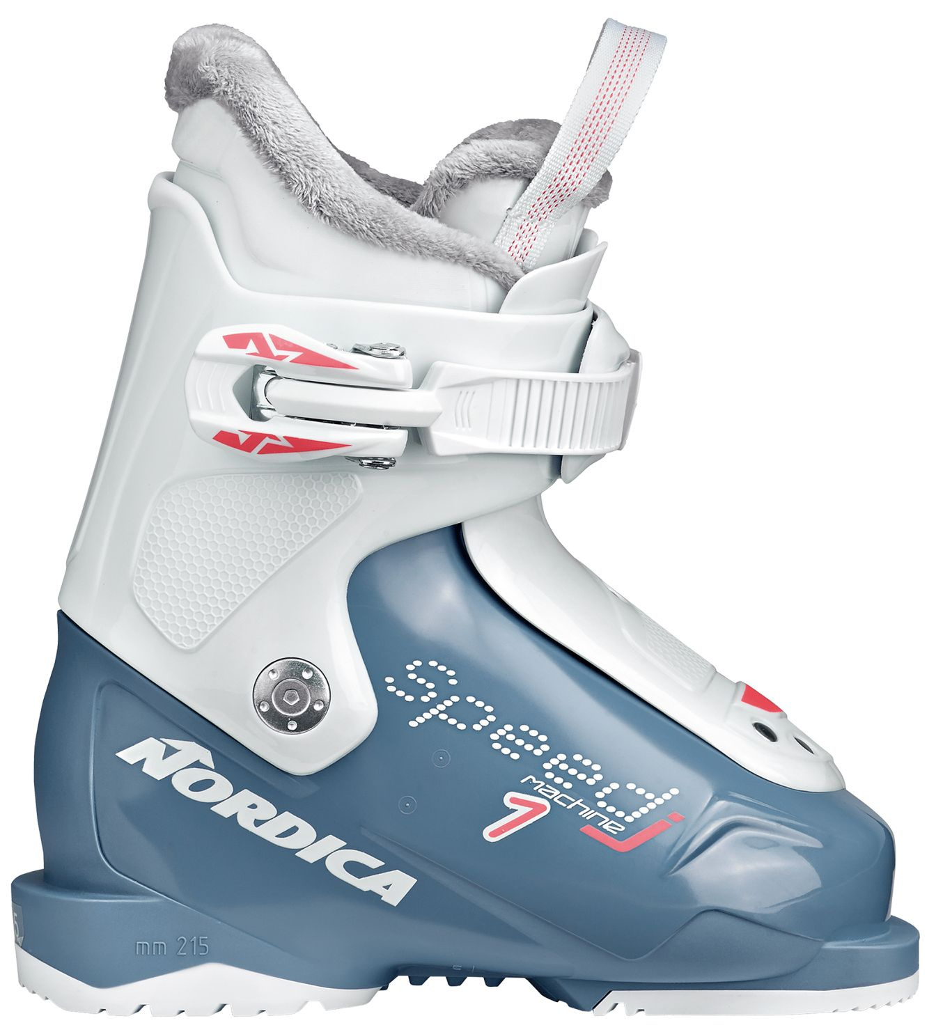 Nordica Speedmachine J 1 (Girl) - light blue-white 145