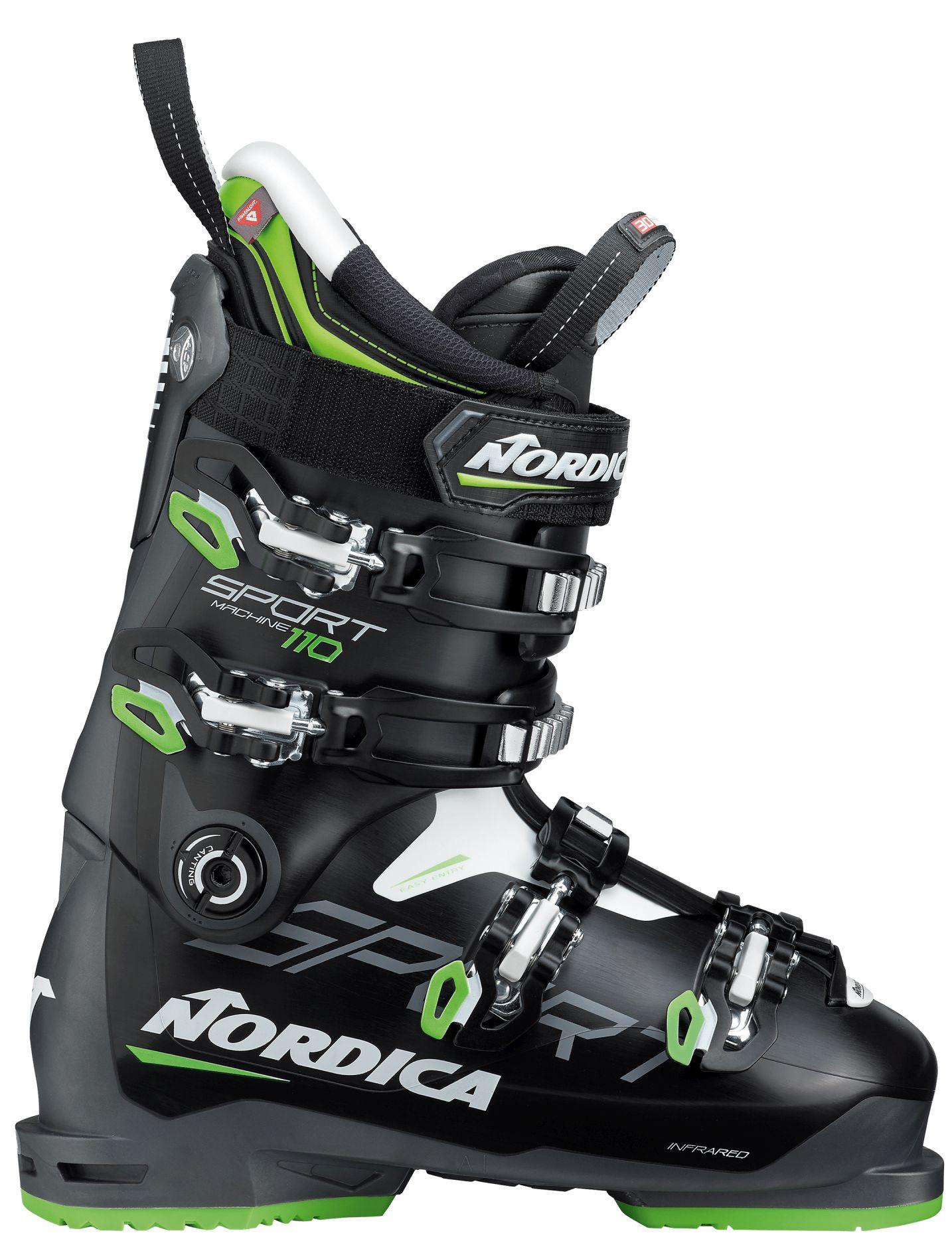E-shop Nordica Sportmachine 110 - black/anthracite/green 290