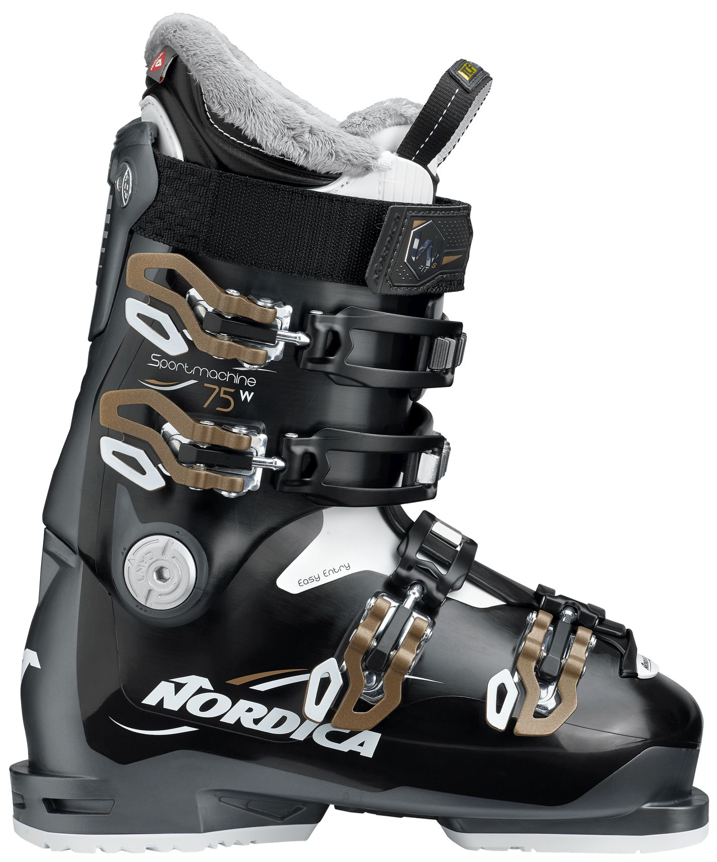 Nordica Sportmachine 75 W - black-anthracite-bronze 250