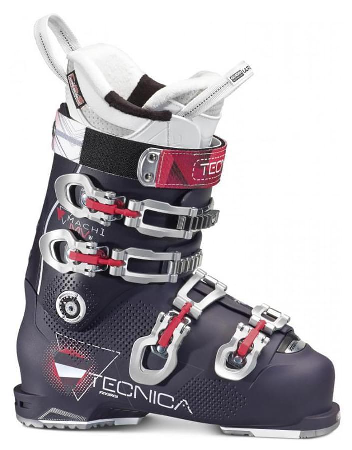 Dámské lyžařské boty Tecnica MACH1 105 W MV – purple/black 265