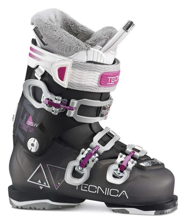 Dámské lyžařské boty Tecnica TEN.2 95 W C.A. - black 245