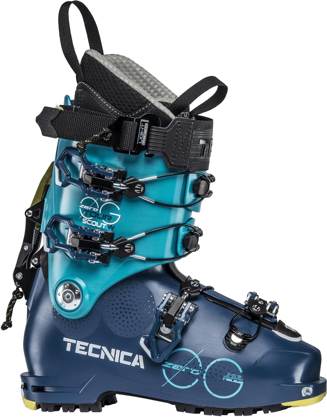 Tecnica Zero G Tour Scout W - ocean blue/blue bird 245