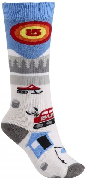 Burton Youth Party Snowboard Sock Snow Camp M/L