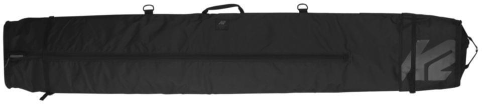 K2 Deluxe Double Ski Bag - Black uni